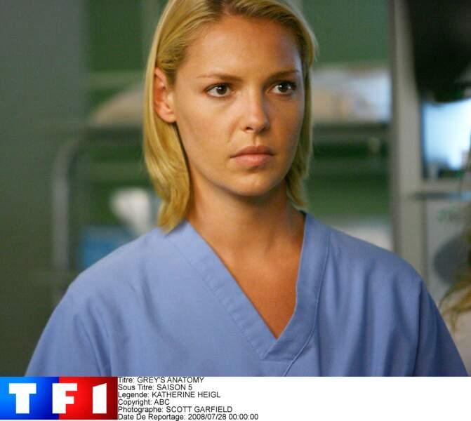 Katherine Heigl ne s'entendait pas avec la créatrice de Greys' Anatomy. Elle a choisi de claquer la porte !