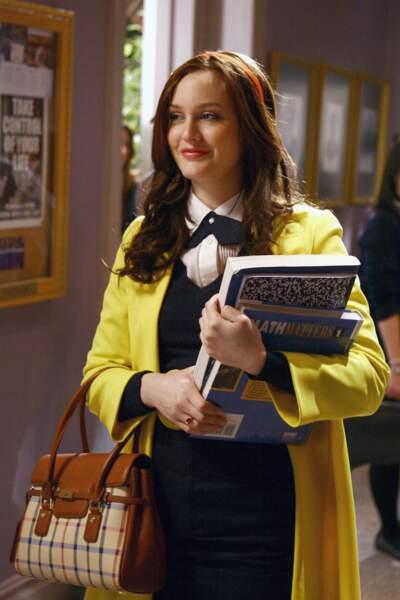Leighton Meester, alias Blair Waldorf ou Queen B
