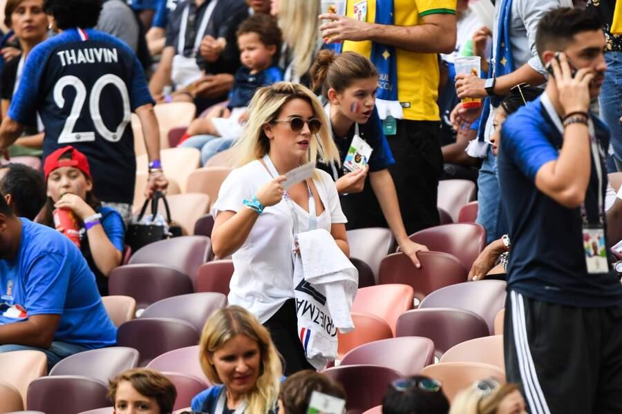 Erika Choperena la femme d'Antoine Griezmann n'aurait manqué cette finale pour rien au monde !