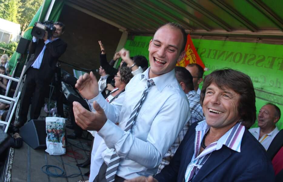 Bertrand et Philippe sont venus soutenir leur pote Thierry !