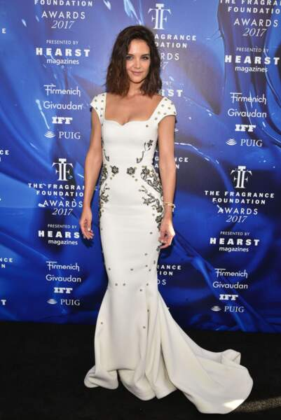 Katie Holmes était sublime dans la robe du créateur Zac Posen