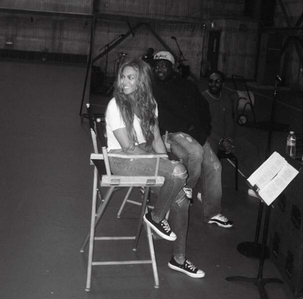 On continue avec Beyoncé, toujours aussi ravissante,