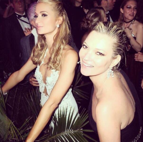 Paris Hilton et Kate Moss sont déchaînées !