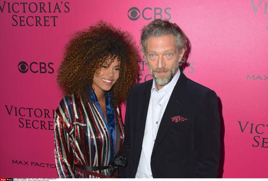 Voici le nouveau couple officiel de la planète people : Vincent Cassel et Tina Kunakey