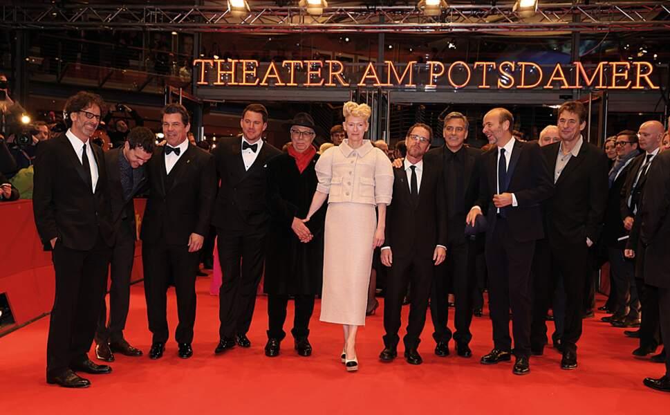 (Presque) Tout le casting du film était présent. Mais il manquait tout de même Scarlett Johansson :(