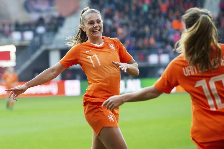 Lieke Martens, championne d'Europe en 2017 avec les Pays-Bas