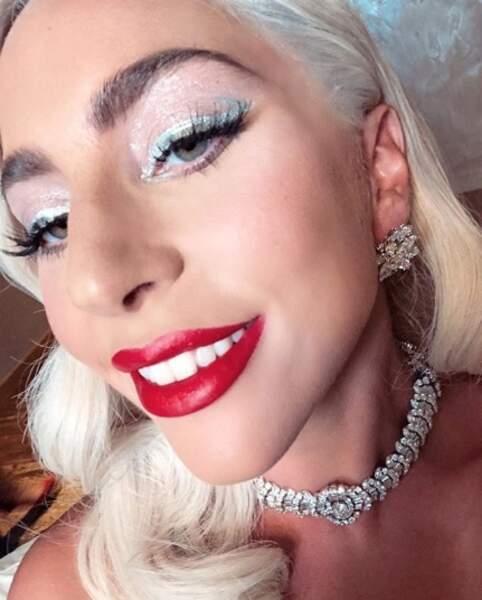 Lady Gaga prête pour le gala…
