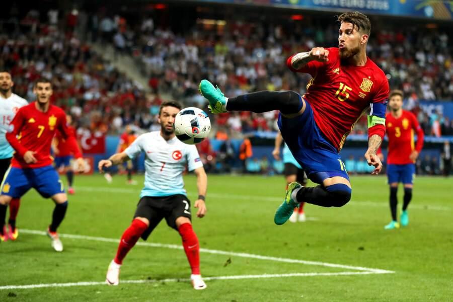 Sergio Ramos se prend pour Dragon Ball