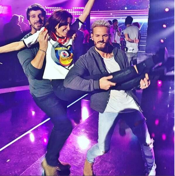 Dans The Voice Kids, elle s'éclate avec avec Patrick Fiori et M. Pokora