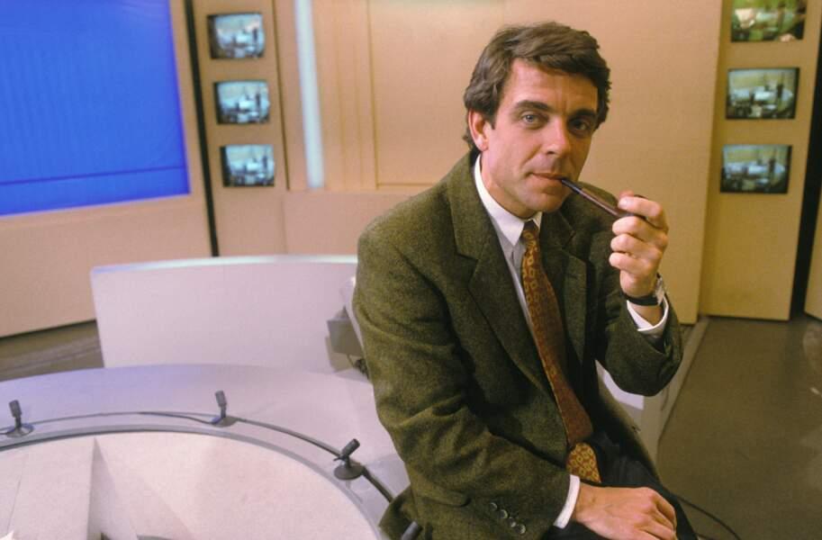 Philippe Lefait a présenté le JT de la Deux entre 1990 et 1992 en alternance avec...