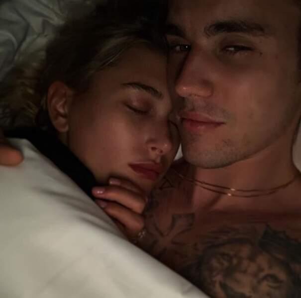 C'était l'heure des câlins chez Justin Bieber et Hailey Baldwin.