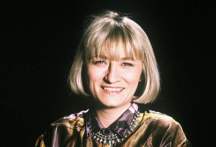 """1989 : Christine Bravo présente """"Les 90 rugissants"""" sur TF1..."""
