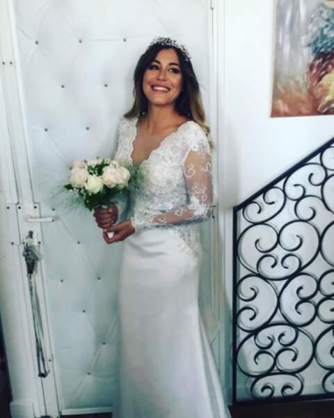 Mais aussi à Anaïs Camizuli qui s'est mariée il y a quelques jours. Ce sourire !