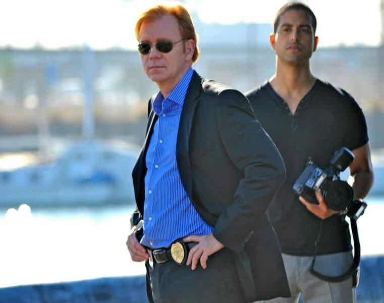 David Caruso (Horatio Caine) et Adam Rodriguez (Eric Delko), deux des héros des Experts : Miami