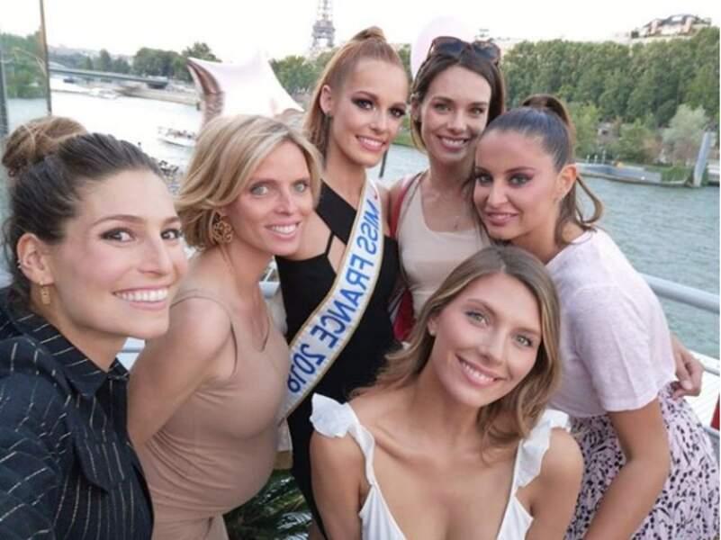 Avant de s'envoler aux quatre coins de la planète, les Miss se sont retrouvées pour un dernier verre !