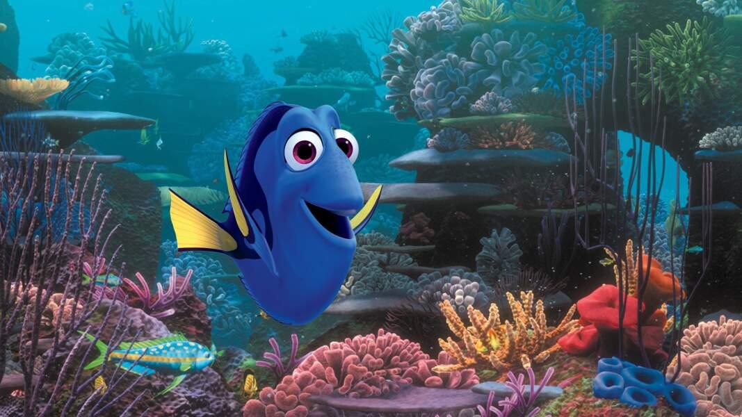 Le Monde de Dory (29/06), un spin-off du Monde de Nemo, toujours produit par Pixar