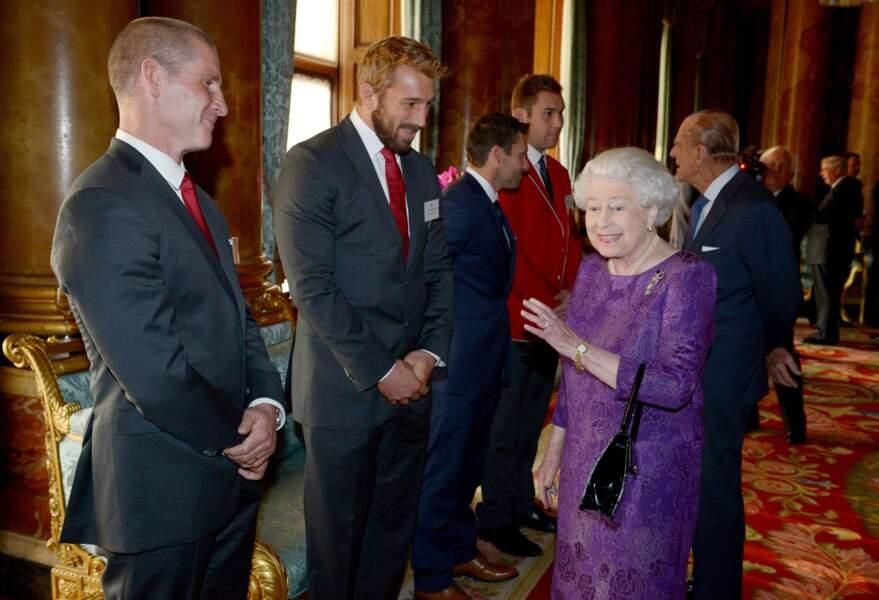 Octobre : Bienvenue à Buckingham les gars ! Quand Elisabeth II prouve qu'elle aime les rugbymen