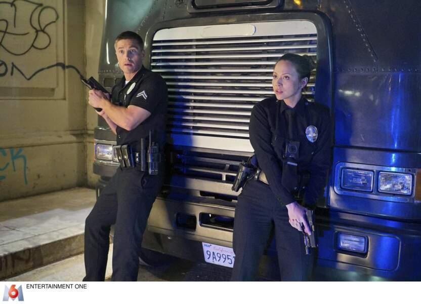 Les policiers Tim Bradford et Lucy Chen doivent rester vigilants en toutes circonstances