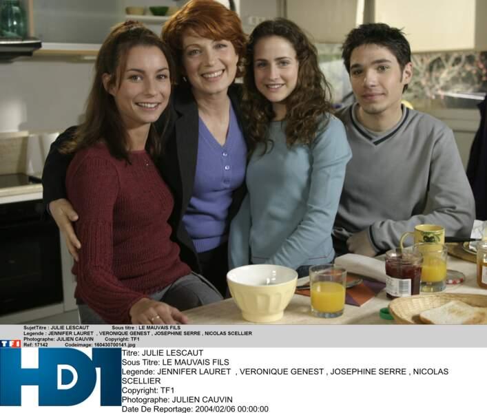Une famille unie à l'écran