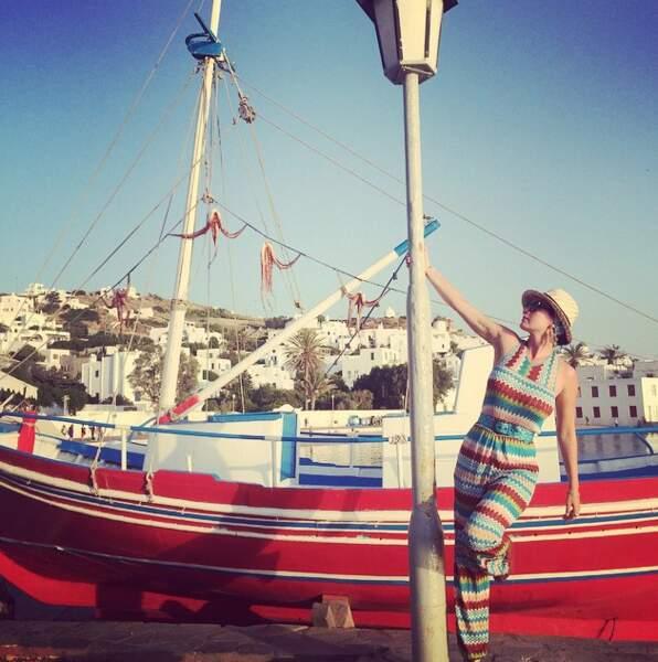 Confirmation avec Katy Perry : oui, les bateaux sont de sortie.