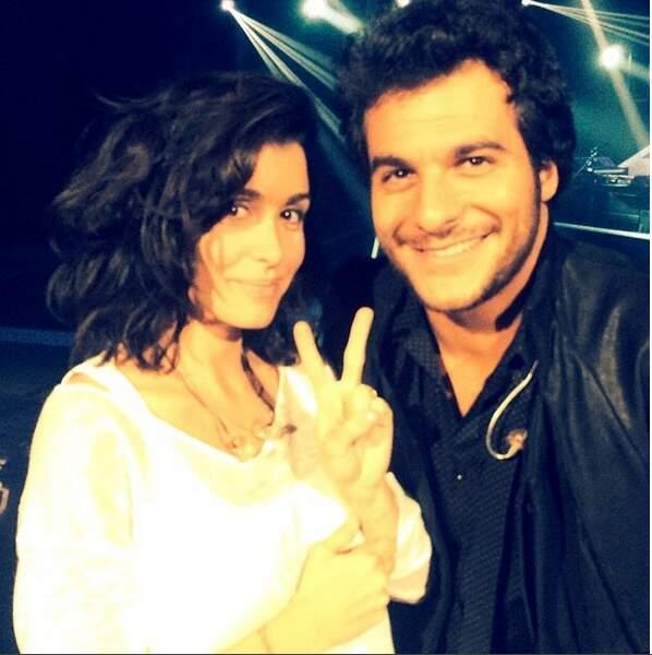 Elle a soutenu Amir en finale de la saison 3 de The Voice