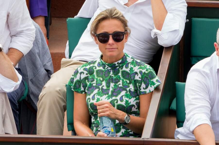 Fan de la petite balle jaune, Anne-Sophie Lapix était présente pour le dixième sacre de Rafael Nadal