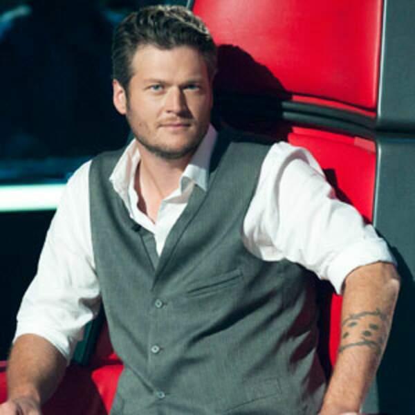 2. Blake Shelton, chanteur de country américain et juré de The Voice depuis 2011