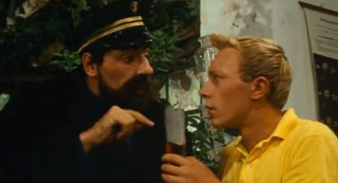 1964 : avec sa houpette, impossible de ne pas reconnaître Tintin !