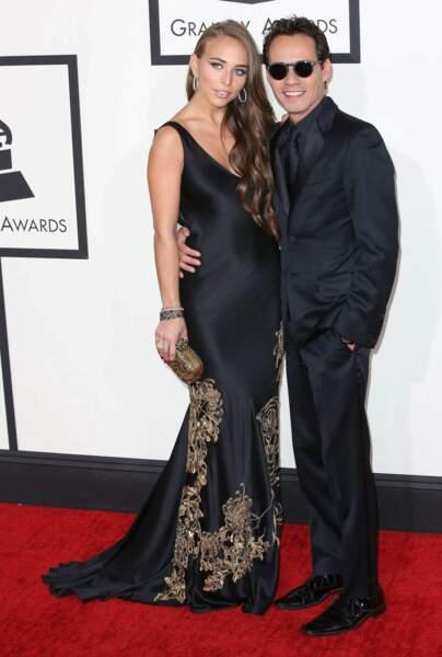 Marc Anthony, l'ex de Jennifer Lopez, et sa compagne