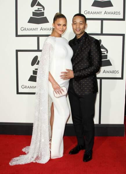 John Legend et sa femme Chrissy Teigen attendent un heureux événement