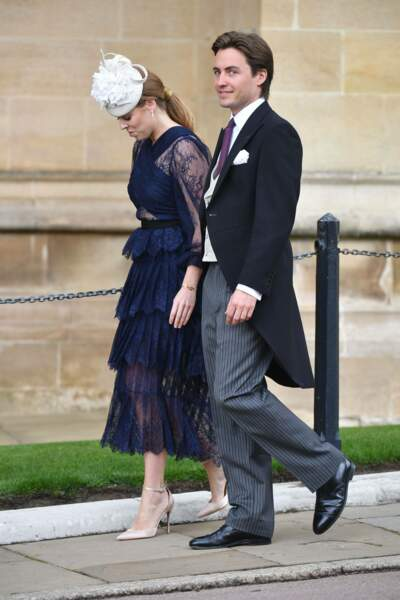 La princesse Beatrice et son petit ami Edoardo Mapelli Mozzi