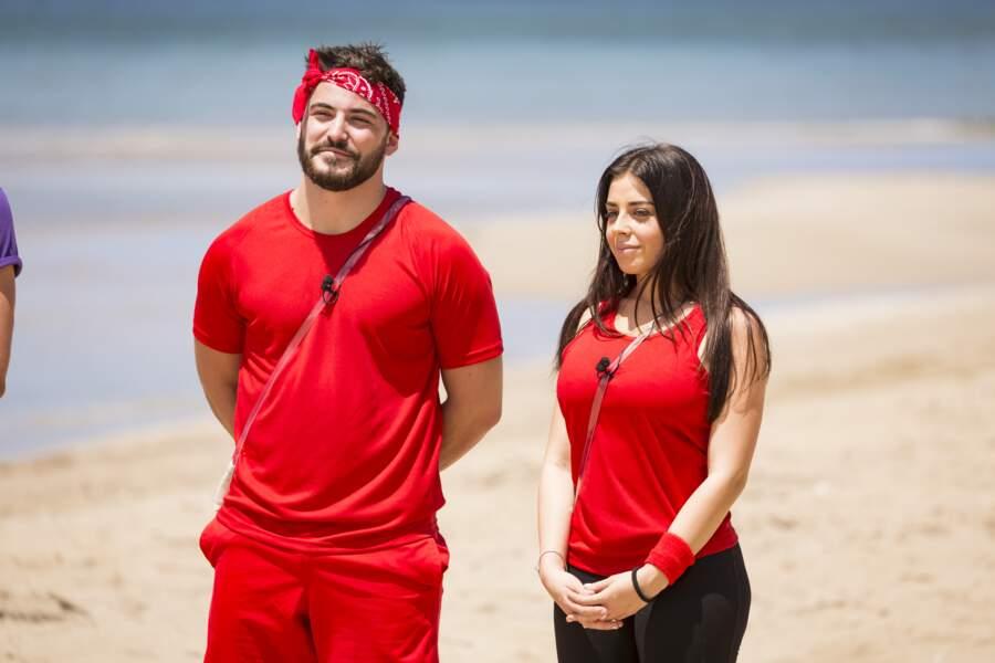 Ils sont donc le 10e couple… et portent la couleur rouge !