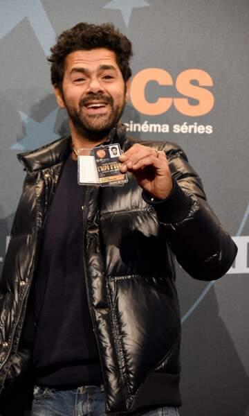 L'acteur-réalisateur a son badge, c'est bon !