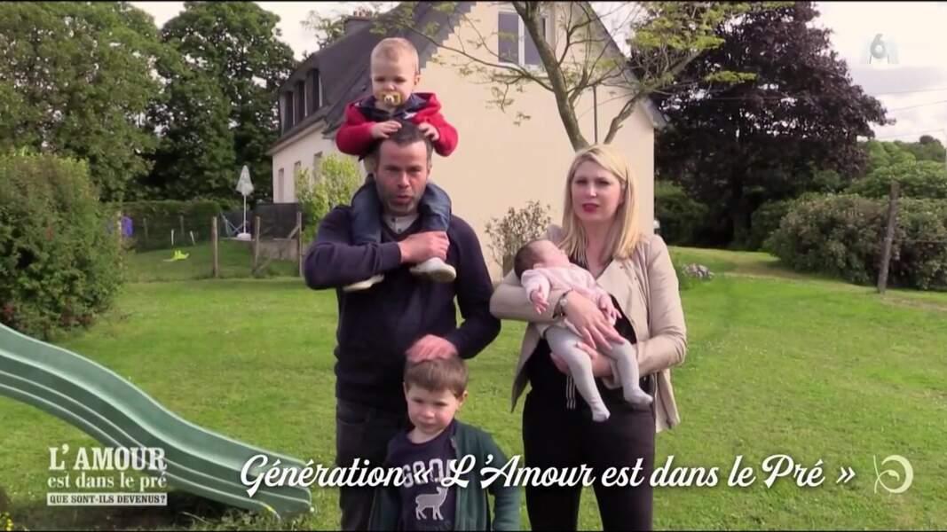Nicolas, éleveur breton de la saison 8, est plus heureux que jamais avec Ludivine...