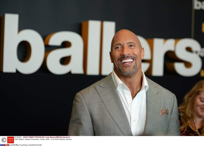 1. Dwayne Johnson avec 64,5 millions de $