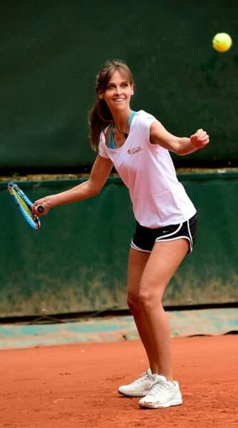 Ophélie Meunier, belle de match à Roland-Garros
