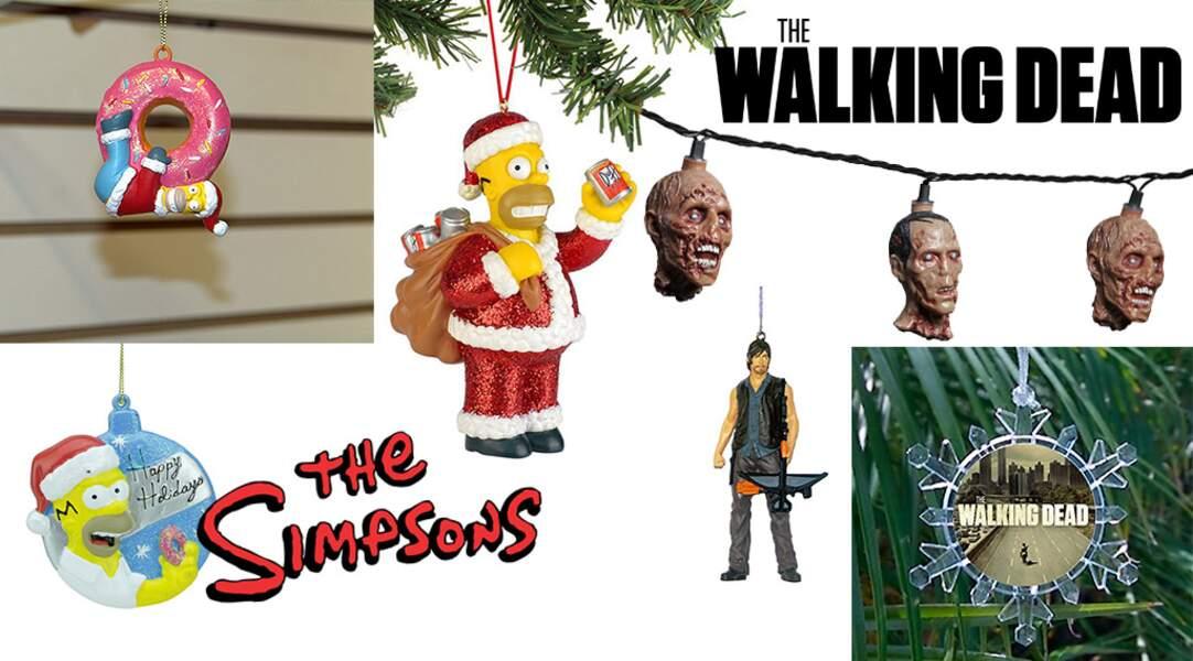 Les fans des Simpson et de The Walking Dead sont aussi servis