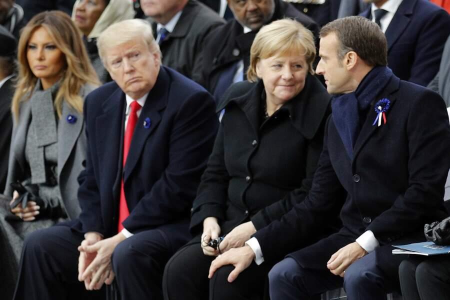 Le courant semble passer entre Emmanuel Macron et Angela Merkel