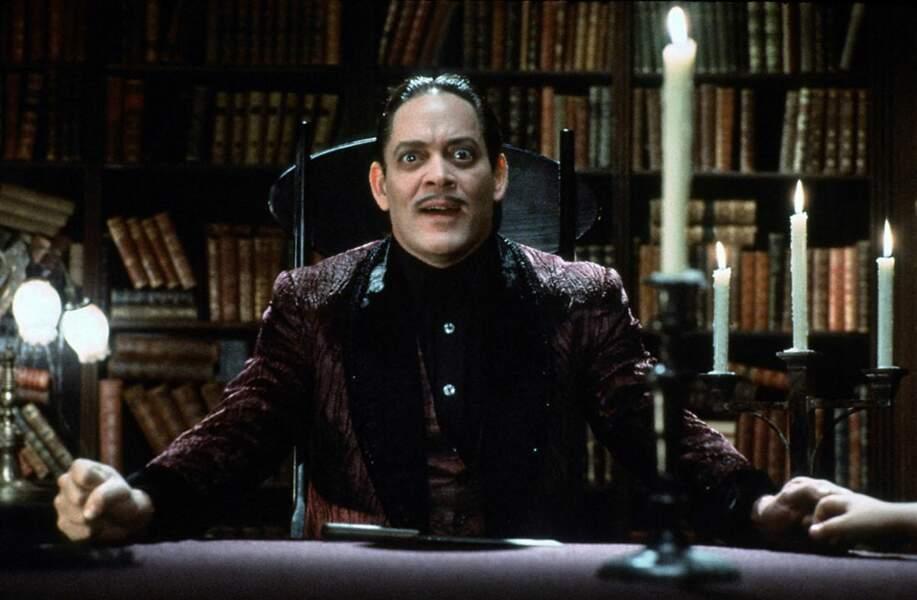Gomez Addams était incarné par Raúl Juliá, décédé un an après la sortie des Valeurs de la famille Addams