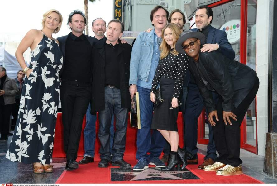 ... tout comme les acteurs Zoe Bell, Tim Roth, Jennifer Jason Leigh et Demian Bichir...