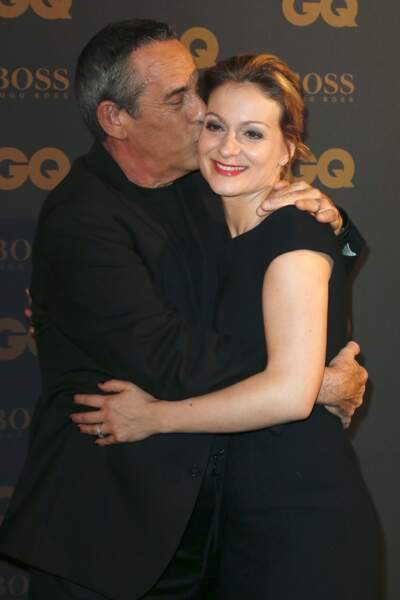 Thierry Ardisson et sa femme Audrey Crespo-Mara