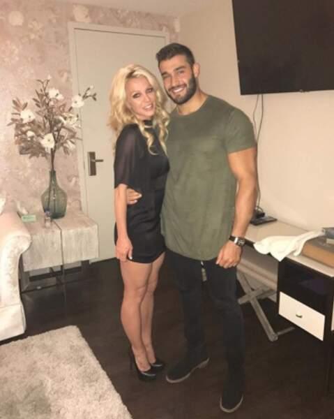 La chanteuse Britney Spears et le mannequin Sam Asghari.
