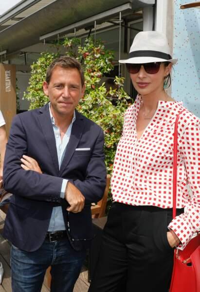 Daniel Riolo et Géraldine Maillet, un couple heureux à l'écran comme à la ville