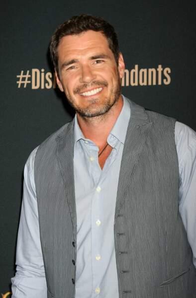 Dan Payne partage avec son personnage le même sourire éclatant.