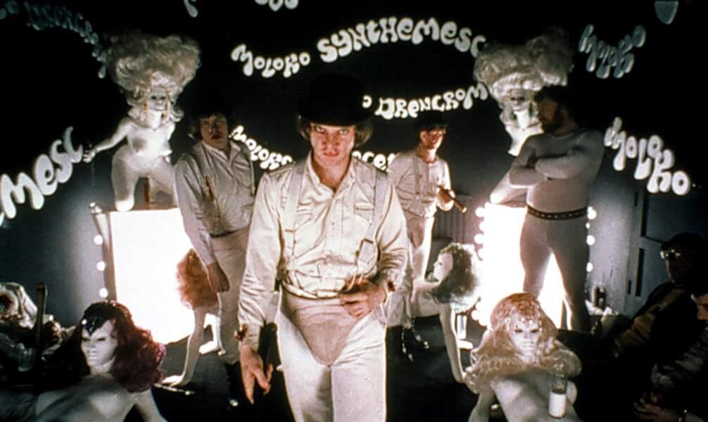 35- Orange mécanique (1971) de Stanley Kubrick