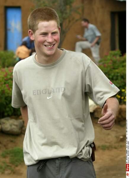 Harry aime l'action et l'humanitaire, à 19 ans, il travaille pendant 2 mois avec des orphelins au Lesotho
