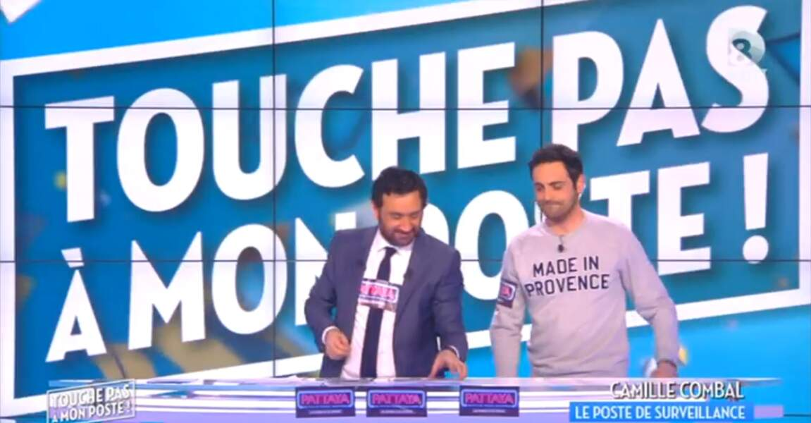 """""""Made in provence !"""" Le message est passé, Camille Combal"""