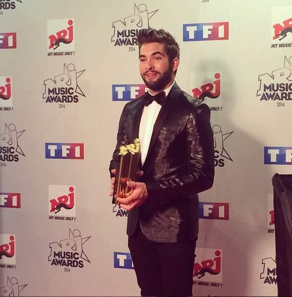 Aux NRJ Music Awards, il s'était mis sur son  31