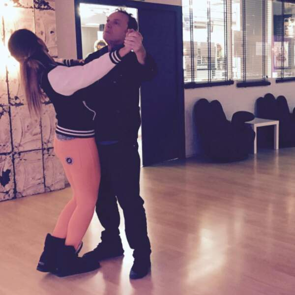Julien et Silvia, enlacés, destinés à la danse !
