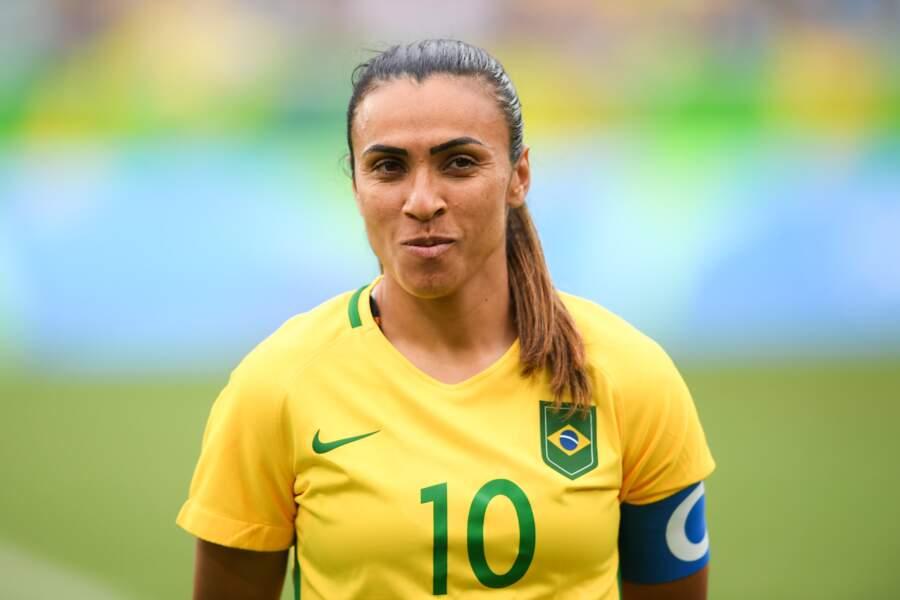 La charismatique Marta porte le Brésil depuis 2003